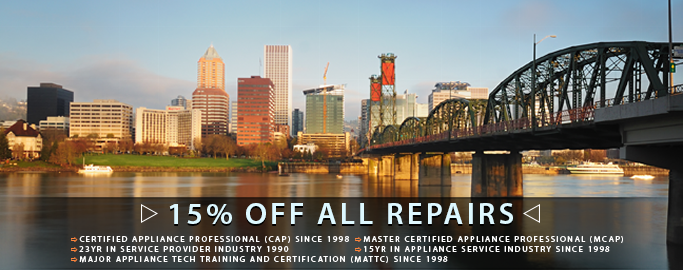 Appliance Repair Portland, OR